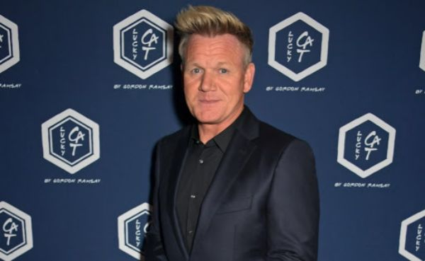 Gordon Ramsay attends the official launch party of Lucky Cat by Gordon Ramsay in Grosvenor Square September 2019