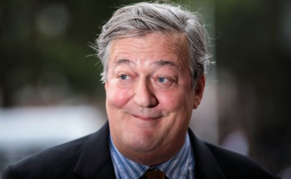 Stephen Fry arrives at Westminster Abbey September 2018